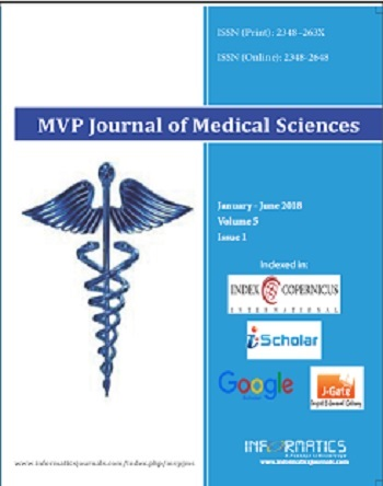MVP Journal of Medical Sciences
