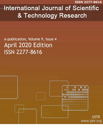 International Journal of Scientific and Technology Research