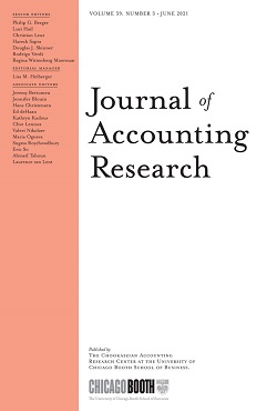 Journal of Accounting Research