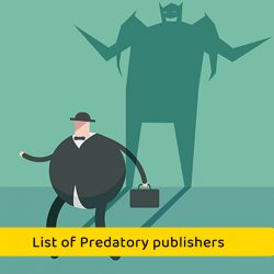 List of Predatory publishers