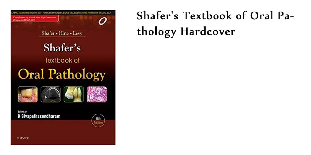 Shafers Textbook of Oral Pathology Hardcover